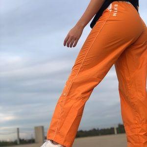 vintage nike orange pants